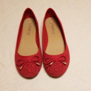 Red Ballet Slippers NWOT